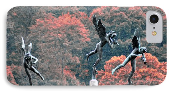 Angels IPhone Case by Bill Cannon