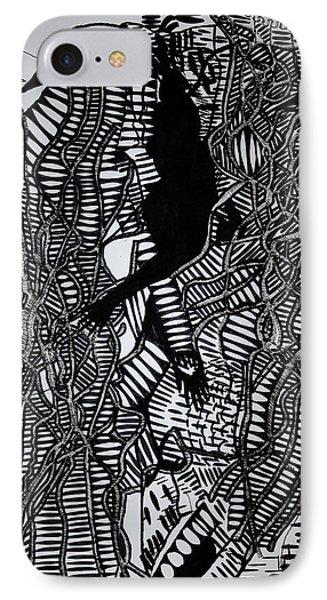 Angels Kiss Phone Case by Gloria Ssali