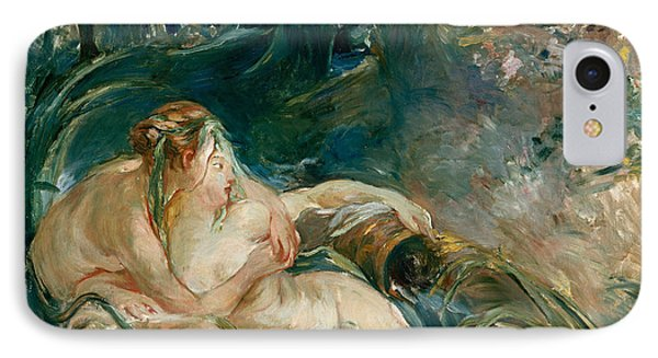 Apollo Appearing To Latone Phone Case by Berthe Morisot