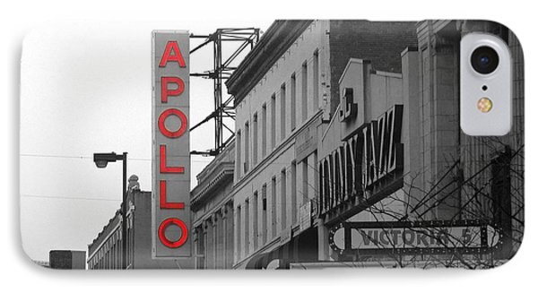 Apollo Theater In Harlem New York No.1 IPhone 7 Case by Ms Judi