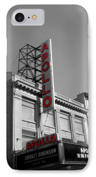Apollo Theater In Harlem New York No.2 IPhone 7 Case by Ms Judi