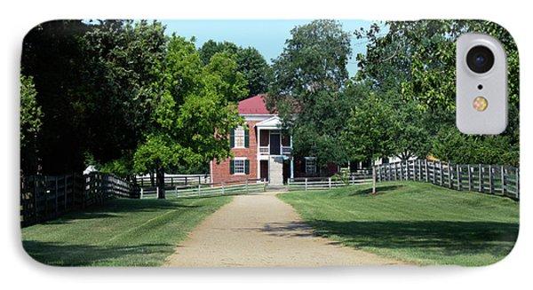 Appomattox County Court House 2 Phone Case by Teresa Mucha