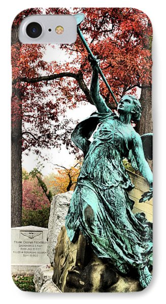 Archangel Gabriel Phone Case by JC Findley