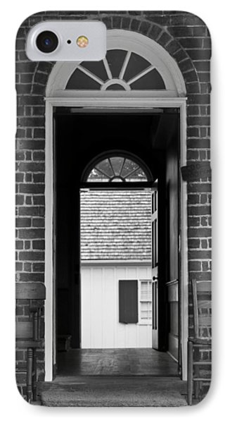 Arched Doors Appomattox Virginia Phone Case by Teresa Mucha