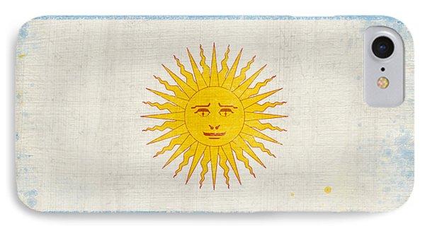 Argentina Flag IPhone Case by Setsiri Silapasuwanchai
