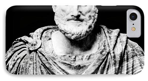 Aristotle, Ancient Greek Philosopher Phone Case by Omikron