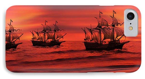 Armada IPhone Case by Lourry Legarde