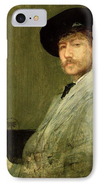 Arrangement In Grey - Portrait Of The Painter Phone Case by James Abbott McNeill Whistler