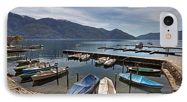Ascona - Ticino Phone Case by Joana Kruse