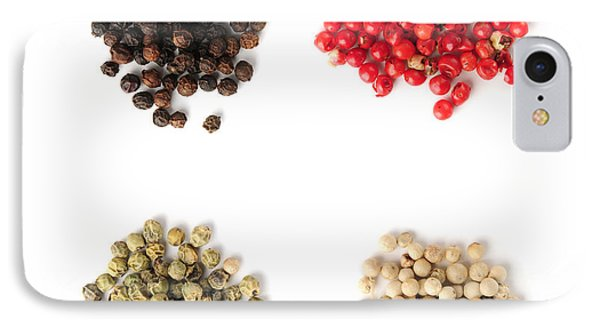 Assorted Peppercorns IPhone Case by Elena Elisseeva