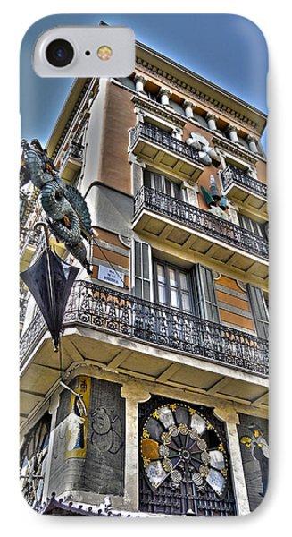 At The Plaza De La Boqueria ... Phone Case by Juergen Weiss