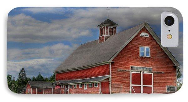 Atco Farms - 1920 IPhone Case by Lori Deiter