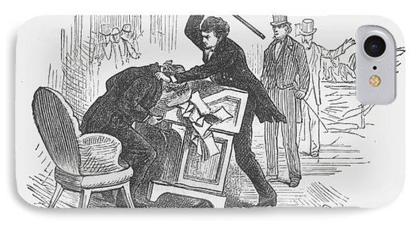 Attack On Sumner, 1856 Phone Case by Granger