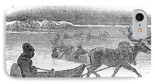 Aurora Borealis, 1833 Phone Case by Granger
