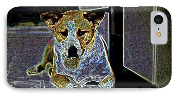 Australian Cattle Dog Boxer Mix Phone Case by One Rude Dawg Orcutt