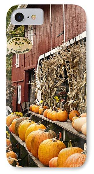Autumn Farm Stand  IPhone Case by John Greim