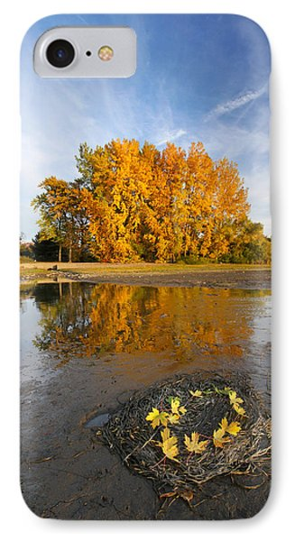 Autumn Nest Phone Case by Mircea Costina Photography