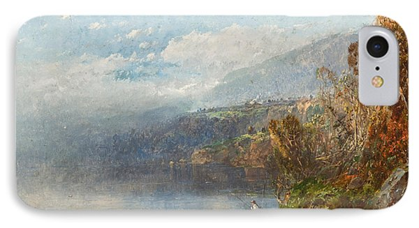 Autumn On The Androscoggin IPhone Case by William Sonntag