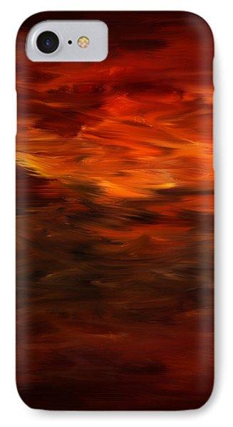 Autumn's Grace IPhone Case by Lourry Legarde