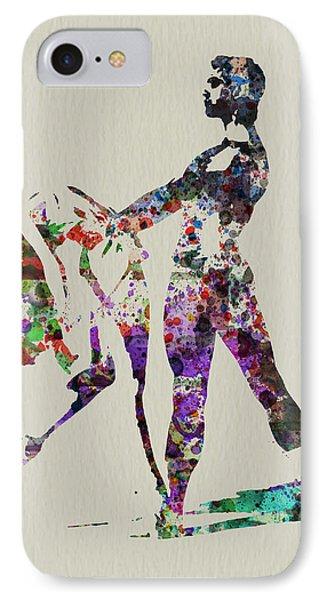 Ballet Dance Phone Case by Naxart Studio
