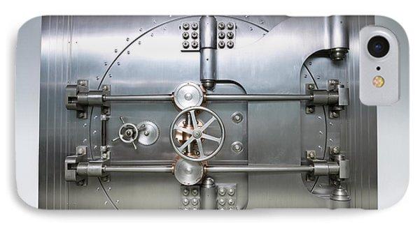 Bank Vault Door Exterior Phone Case by Adam Crowley