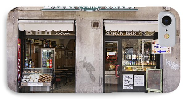 Bar Caffe Phone Case by Jeremy Woodhouse