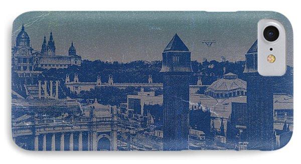 Barcelona Phone Case by Naxart Studio