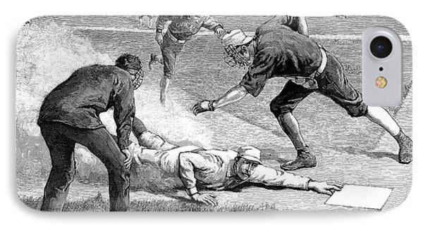 Baseball Game, 1885 IPhone Case by Granger