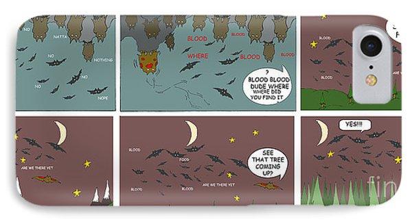 Bat Blood Phone Case by Jack Norton
