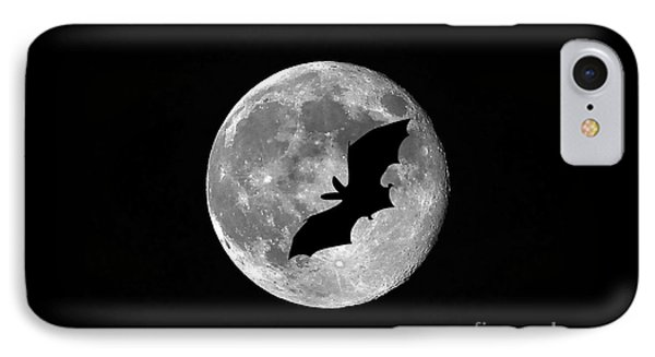 Bat Moon IPhone Case by Al Powell Photography USA
