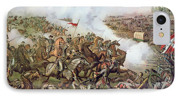 Battle Of Five Forks Virginia 1st April 1865 Phone Case by American School