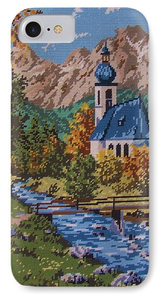 Bavarian Country Phone Case by M and L Creations Craft Boutique