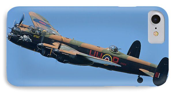 Bbmf Lancaster Bomber 2 Phone Case by Ken Brannen