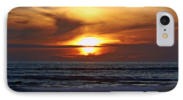Beach Sunset  Phone Case by Pamela Patch