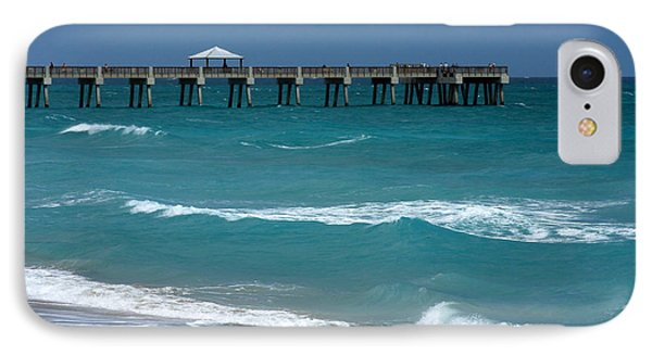 Beautiful Day At The Beach Phone Case by Sabrina L Ryan