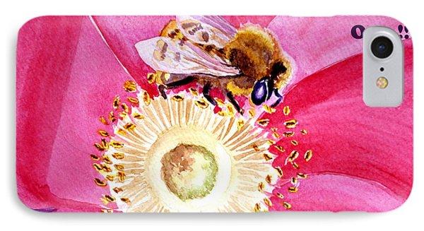 Bee The One IPhone Case by Irina Sztukowski