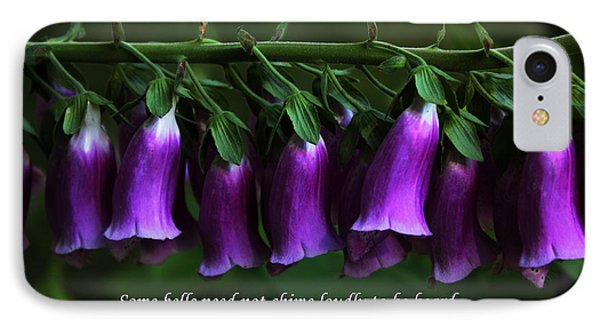 Bells Of Spring Phone Case by Olahs Photography