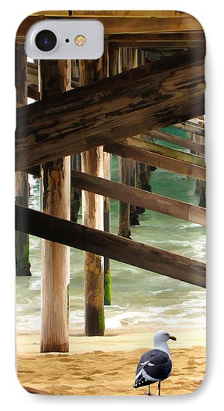 Beneath The Pier Phone Case by Diane Wood
