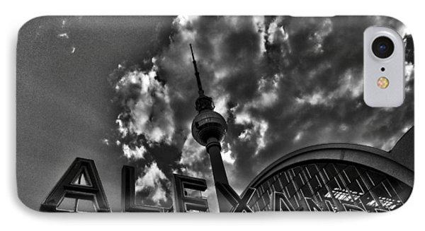Berlin Alexanderplatz Phone Case by Juergen Weiss