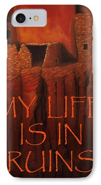 Betatakin Ruins Greeting Card IPhone Case by Jerry McElroy