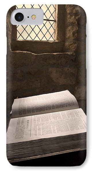 Bible In A Church, Rosedale, North Phone Case by John Short