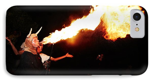 Big Axe Of Fire Phone Case by Agusti Pardo Rossello