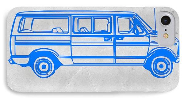 Big Van IPhone Case by Naxart Studio