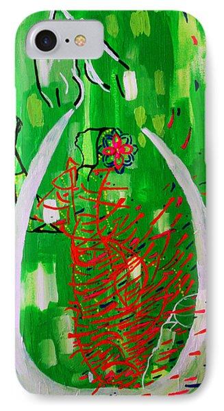 Bikira Maria - Rosa Mystica Phone Case by Gloria Ssali