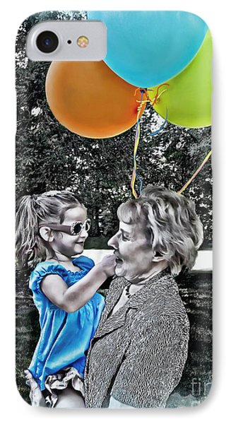 Birthdays IPhone Case by Joan  Minchak