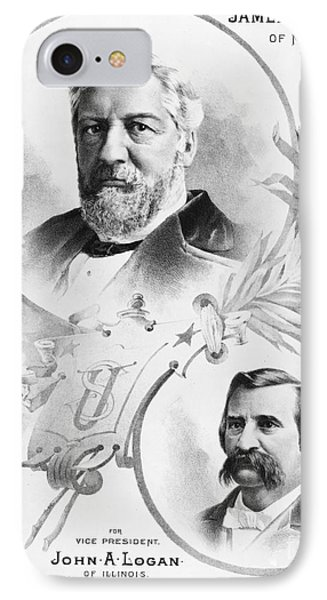 Blaine: Election Of 1884 Phone Case by Granger