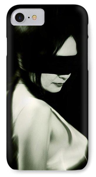 Blindfold Phone Case by Joana Kruse