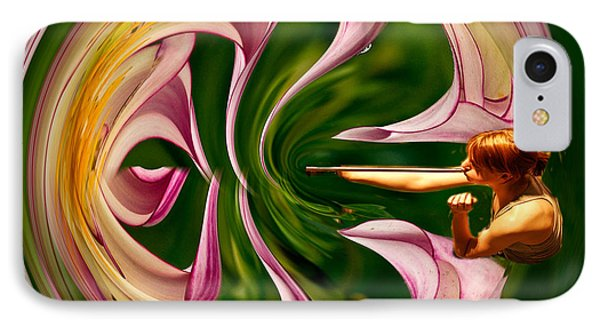 Blowing Up The World. Phone Case by Jean Noren