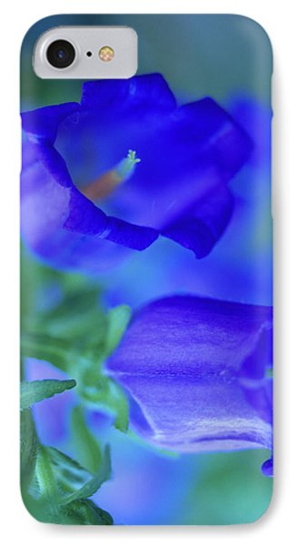 Blue Bell Flowers Phone Case by Kathy Yates