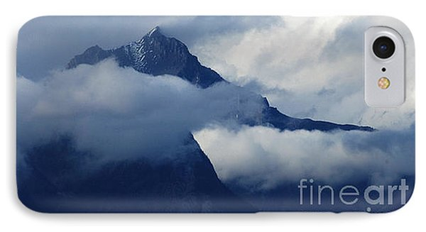 Blue Canadian Rockies Phone Case by Bob Christopher